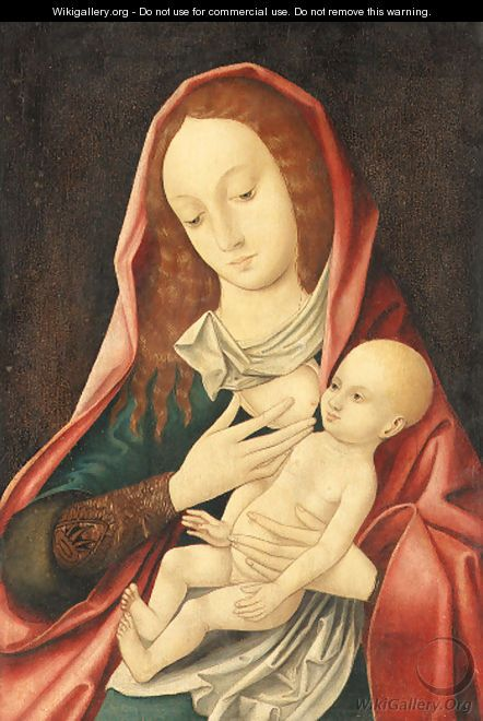 The Virgin and Child 3 - (after) Cleve, Joos van