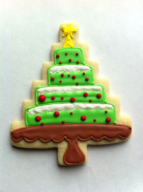 CookieCrazie More Homespun Tree Cutter Cookies arbolito de