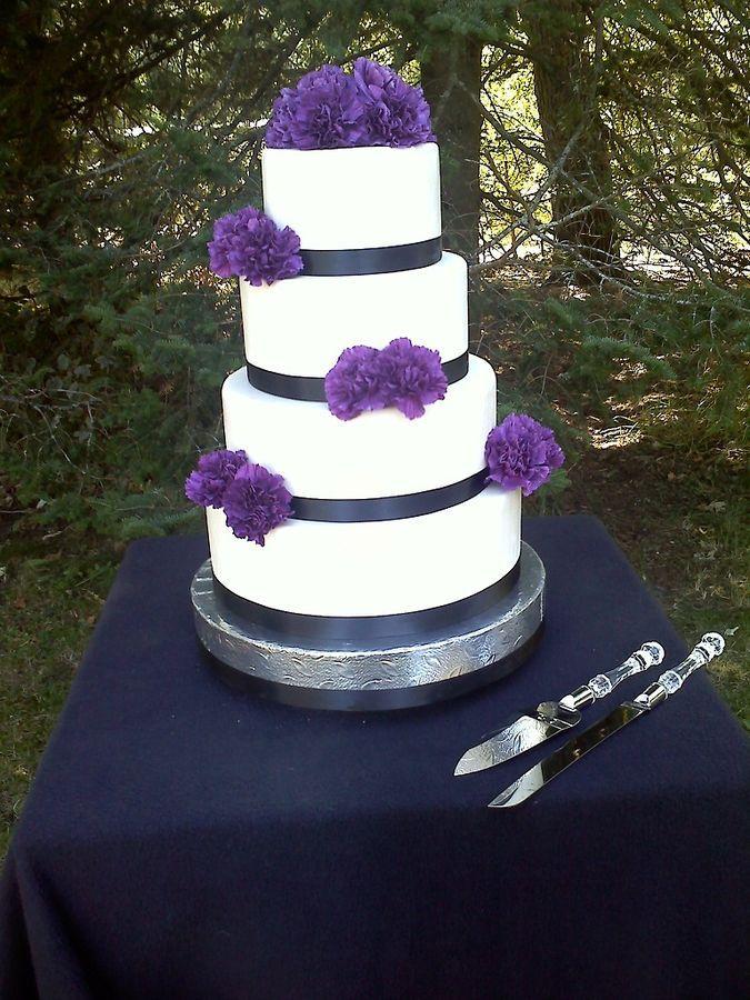 Cake Idea Wedding Shower Cakes Purple Wedding Cakes Wedding Cakes