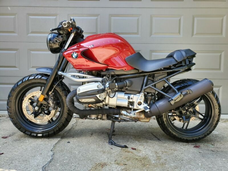 Bmw R1150r Cafe Racer Scrambler Custom Motorcycle With Images
