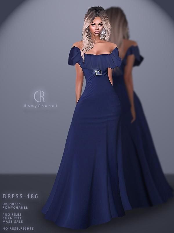 Rc Dress 186 Dresses Sims 4 Dresses Formal Dresses