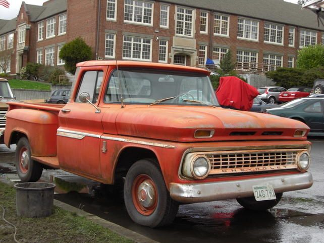 1963 Chevy C10 LWB Step Side    In love With This Truck