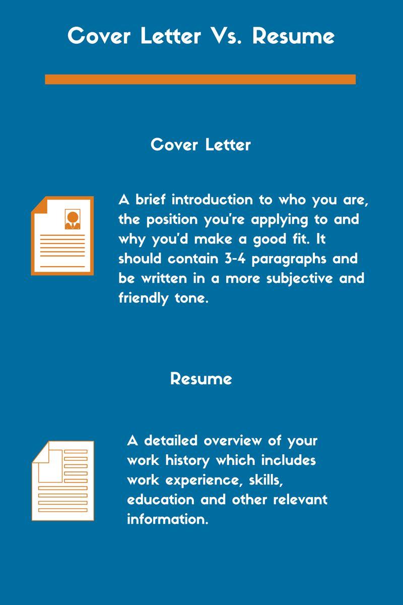 27 cover letter vs resume resume cover letter examples