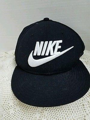 b241a74b60c Nike Futura True 2 Snapback Hat Adult Unisex 584169010 Black White ...