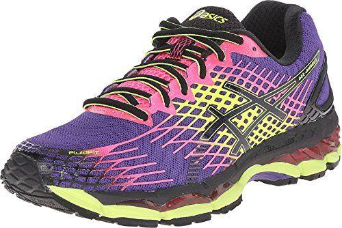 ASICS Women's GEL-Nimbus? 17 Purple/Black/Hot Pink Sneaker 12 B