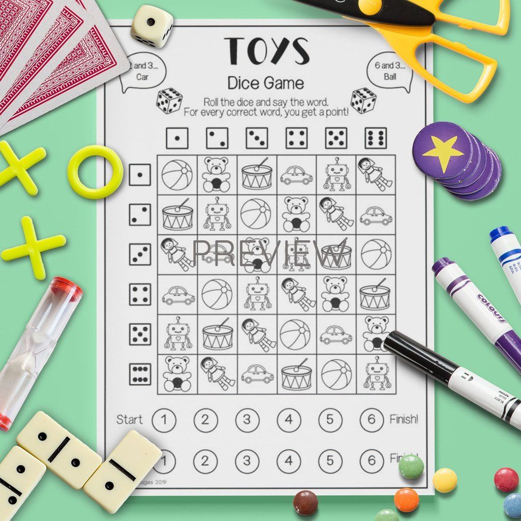 Toys Dice Game