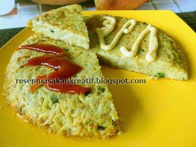 Resep Omelet Mie Keju Bumbu Praktis Resep Masakan Indonesia Resep Masakan Makanan