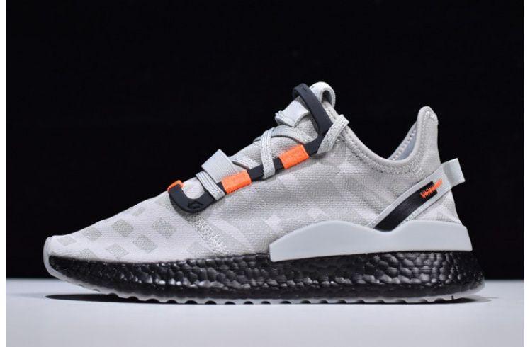 Mens Adidas Nite Jogger Boost Grey