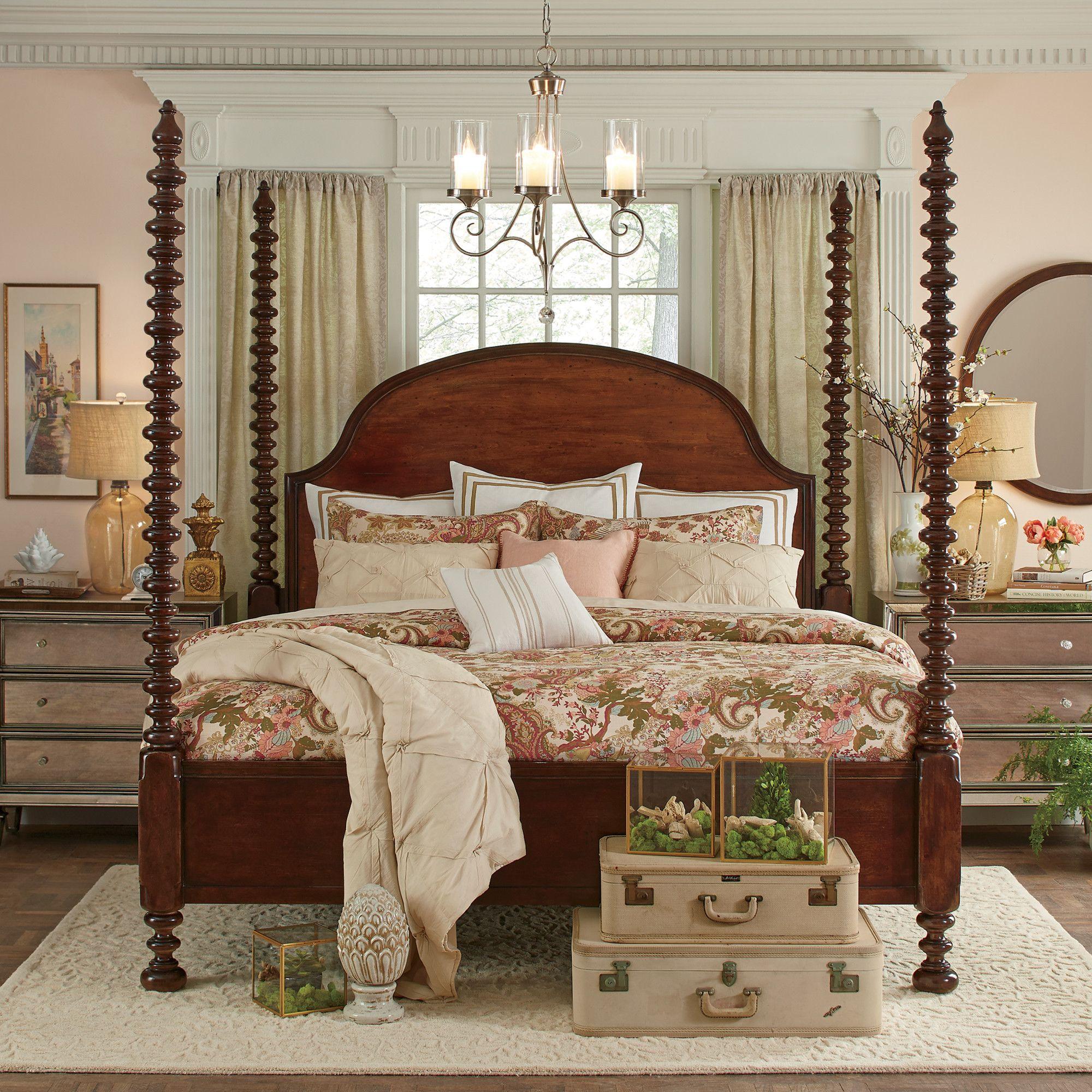 Birch Lane Cambridge Curtain Panel | Birch Lane | Elegant bedroom ...