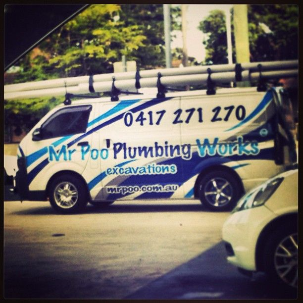 Yes That Is A Unique Name For A Plumbing Company D Plumbing