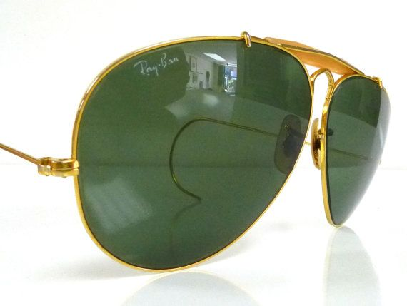 Ray Ban Aviators  Vintage 1970S Gold Plated  Bl Ray -6235