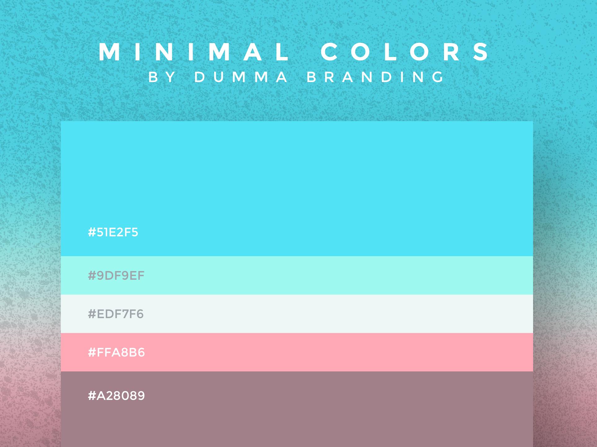 Aquamarine MInimal colors Snapchat template, Conference