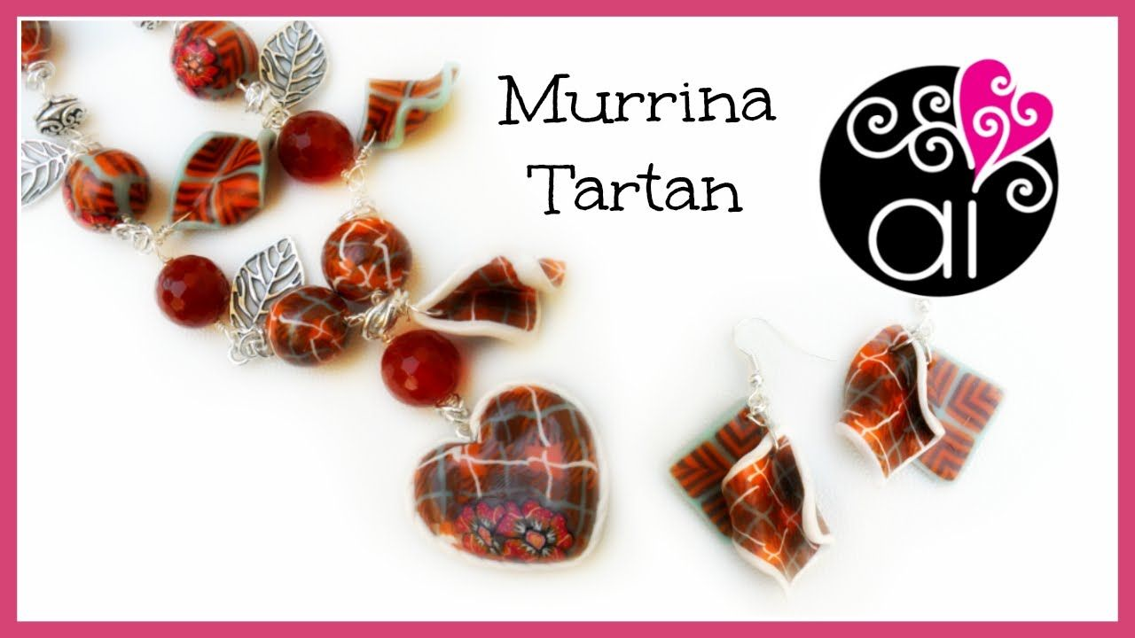 Murrina Tartan | Polymer Clay Tutorial | Tartan Cane