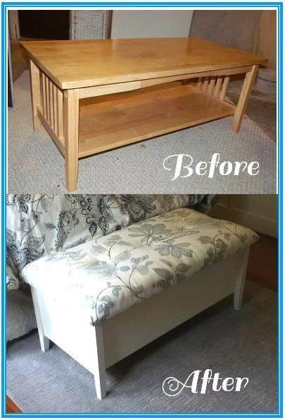 Adorable Storage Bench Made Wit H Osborne Wood Products Shanty To Chic Coffee Table Legs Furniture Diy Furniture Chair Upcycled Furniture Diy