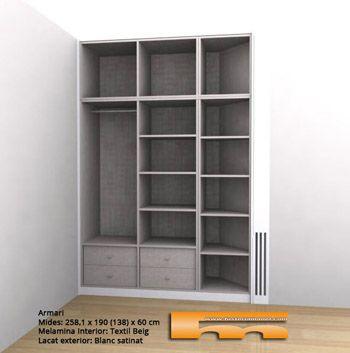 armarios empotrados y a medida barcelona taller de carpintera en barcelona especializada en armarios a medida armarios empotrados literas a medida - Bricomania Armario Empotrado