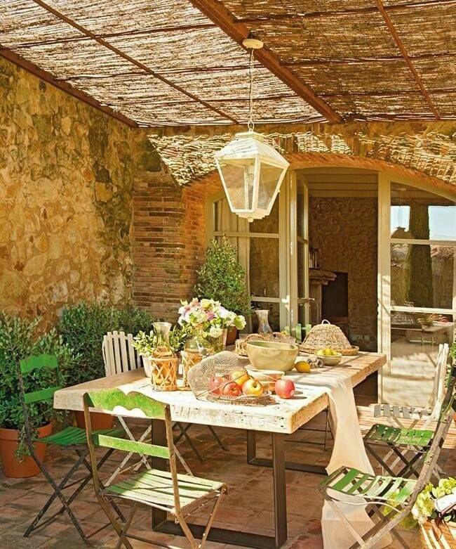 patio idea | Home decor - stoep | Pinterest | Patios, Porch and ...