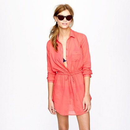 Already August and we've yet to go to the #beach. How sad. But this drawstring tunic is more of a reason to!