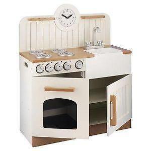 Wooden Kitchen | Childrens Wooden Play Kitchens | eBay UK | kids ...