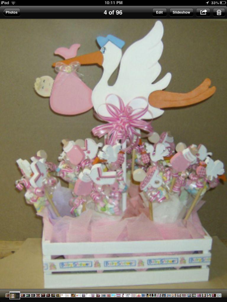centerpiece baby shower pinterest