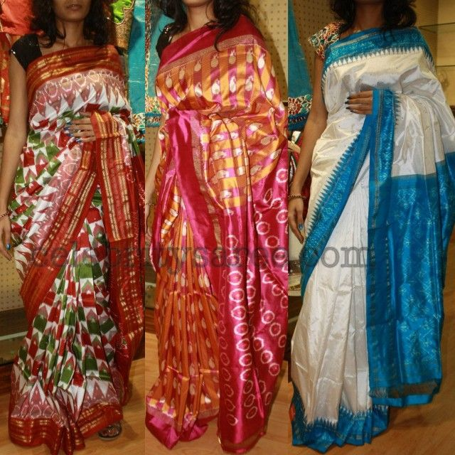 Dussera Special Pochampally Sarees Saree Blouse Patterns