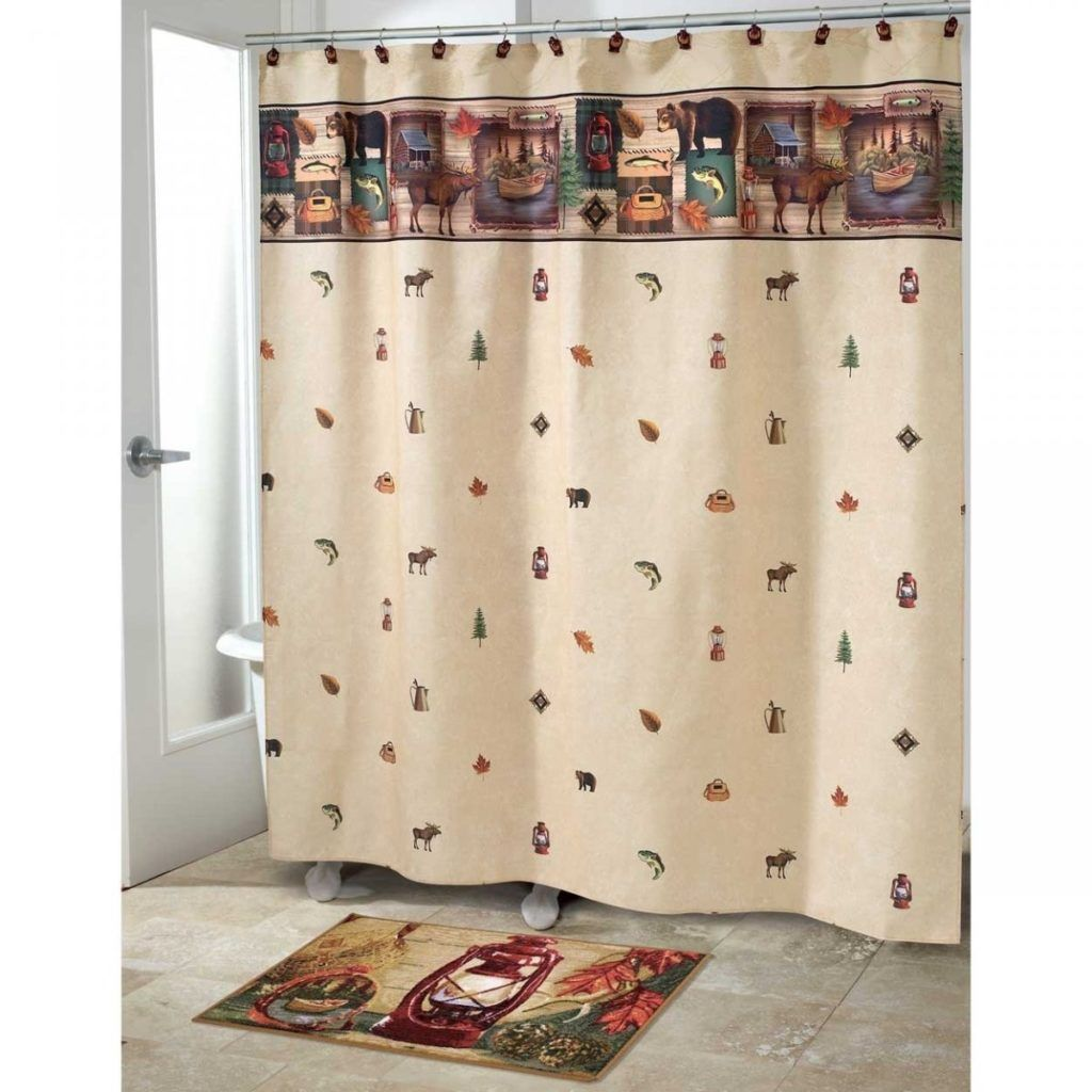 Americana Shower Curtain & Bathroom Accessories By Cby blonder ...