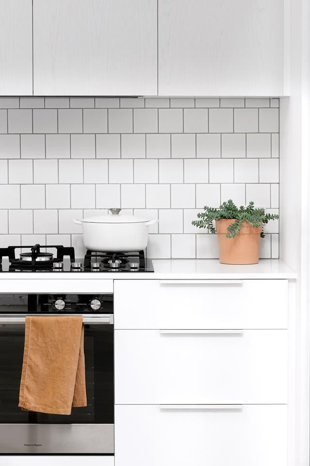 Scandi style kitchen renovation on a budget #purewhite