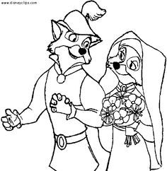 robin hood wedding coloring pages Google Search Til at