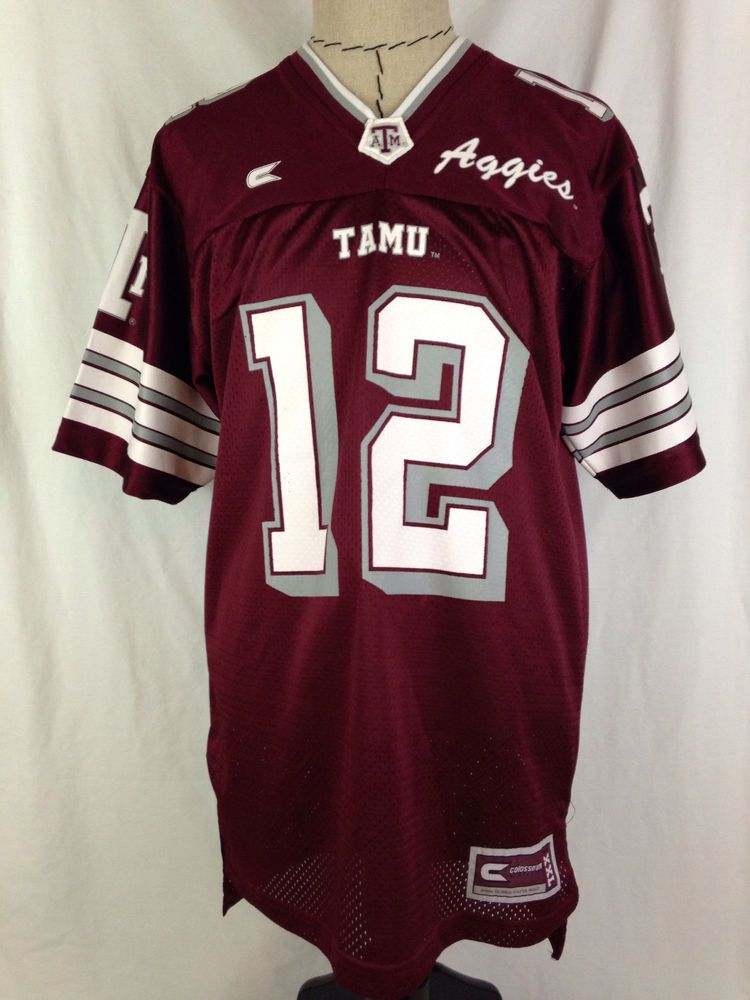 Texas a m aggies football jersey mens s small size 12