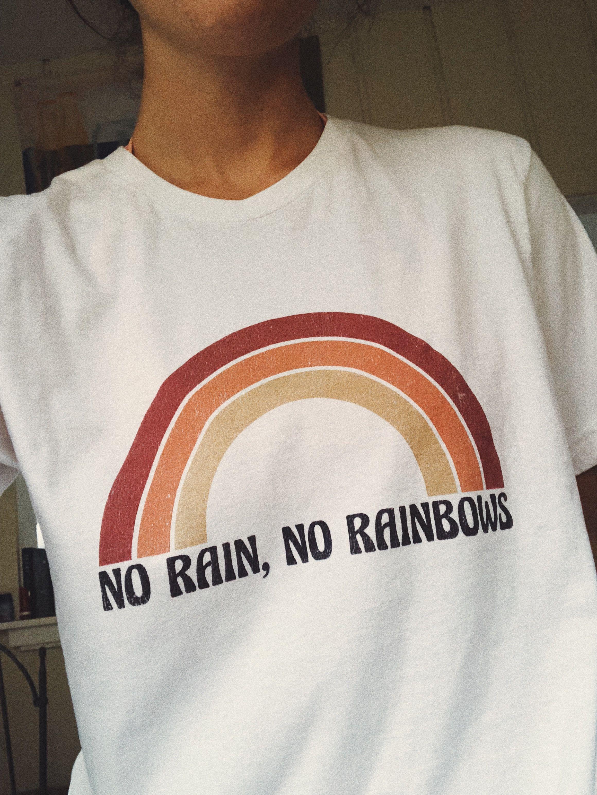 Rain New Vintage Design T-Shirt Men Women Unisex 100/% Cotton