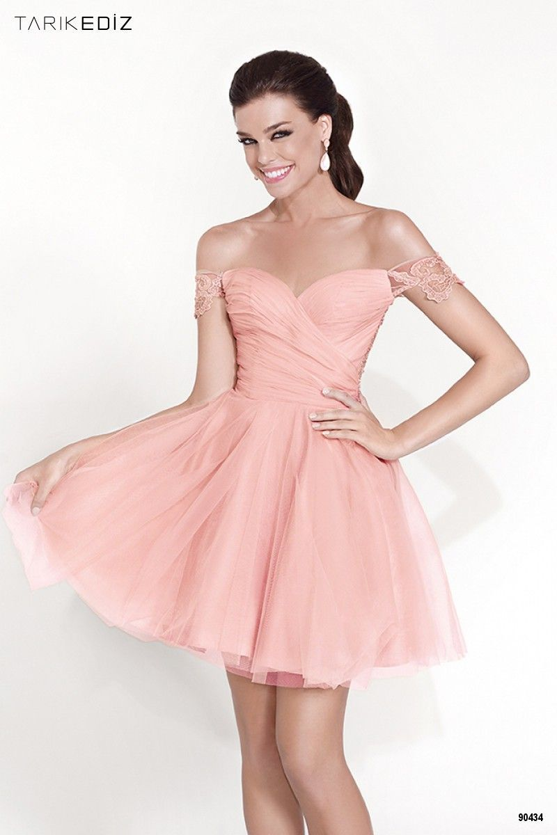 Off the Shoulder Short Homecoming Dress