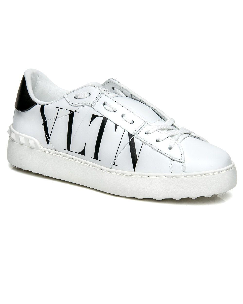 a4255c405591 Valentino Garavani White VLTN Open Sneaker Valentino Garavani