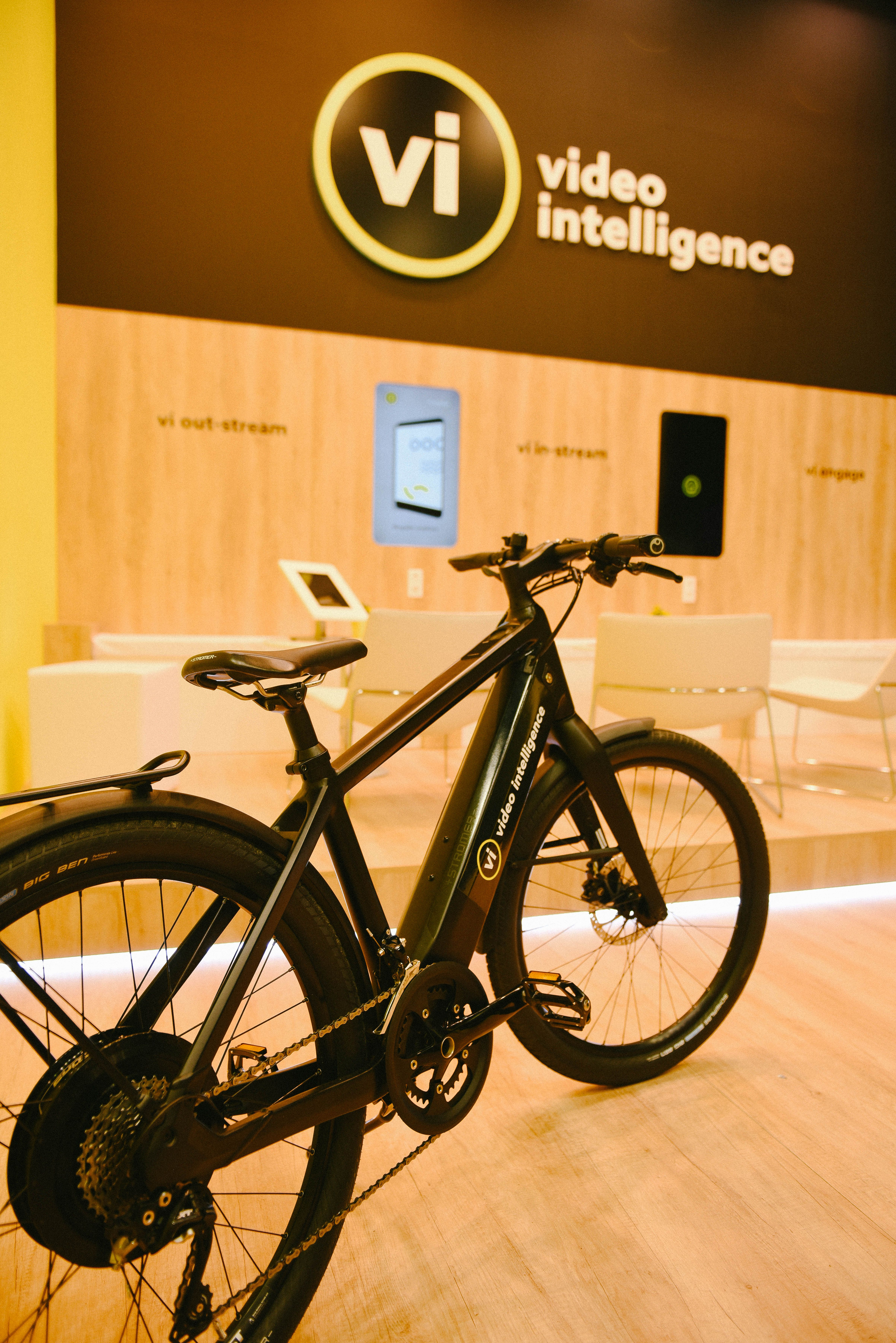 This Stromer ST2 e-bike was up for grabs for one lucky winner.