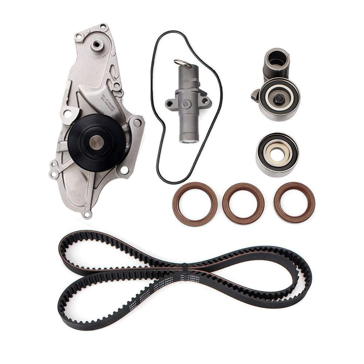 Engine Timing Belt Kit With Water Pump For 2003-2017 Honda