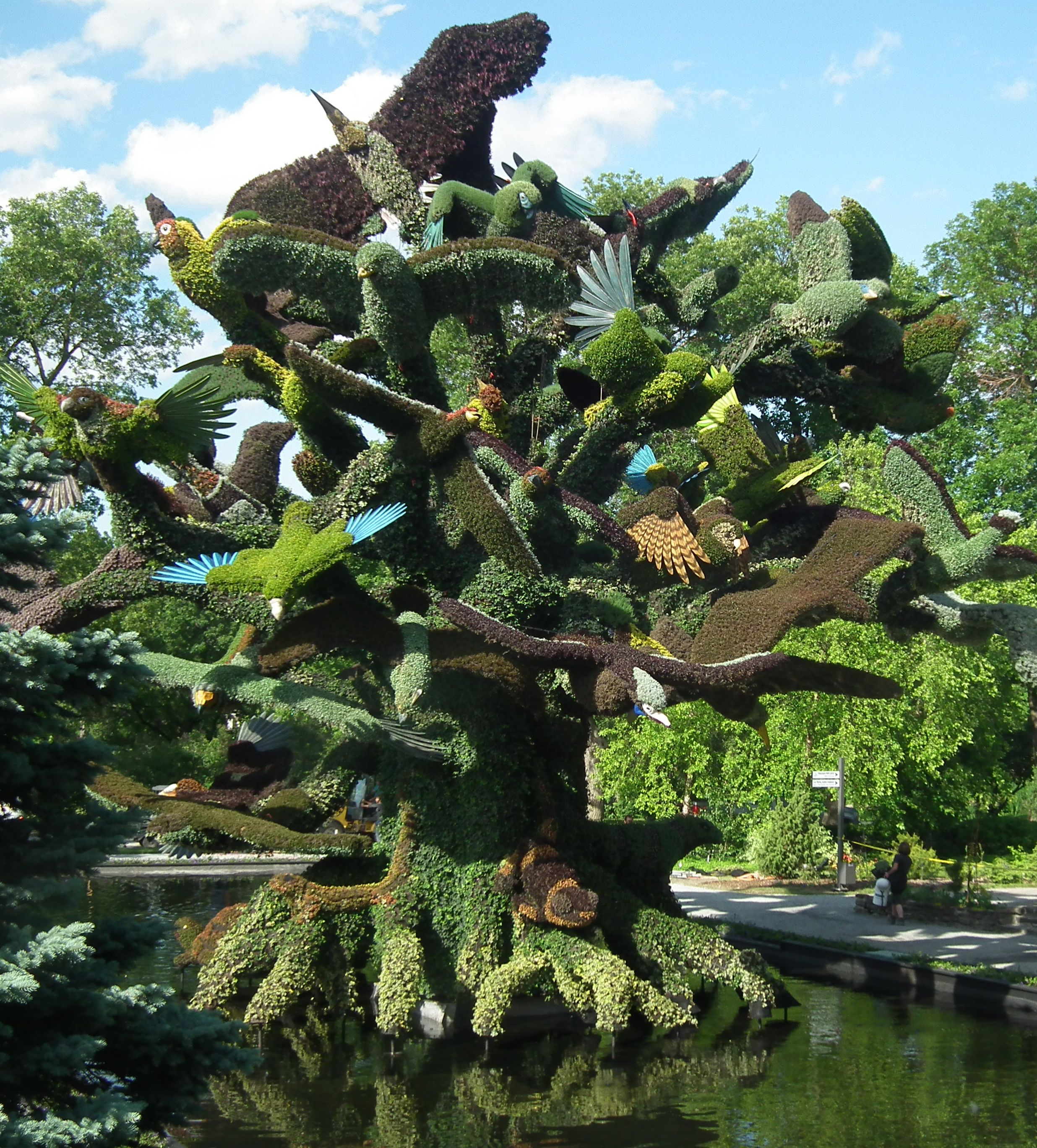 Great Mosaïcultures Is A Hit At Montreal Botanical Garden