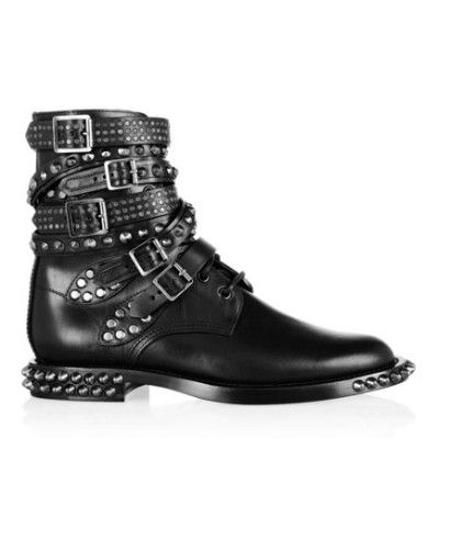 587c9d5b1a6 Botas grungie, ¿sí o no | Current Obssesion | Studded combat boots ...