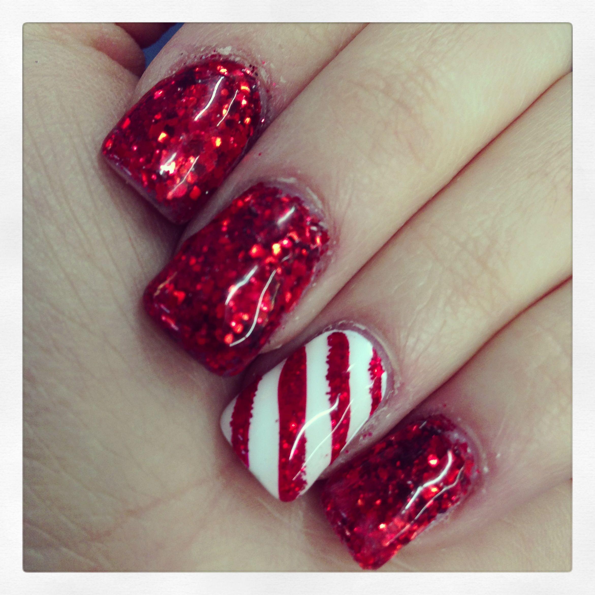 Christmas nails ❤
