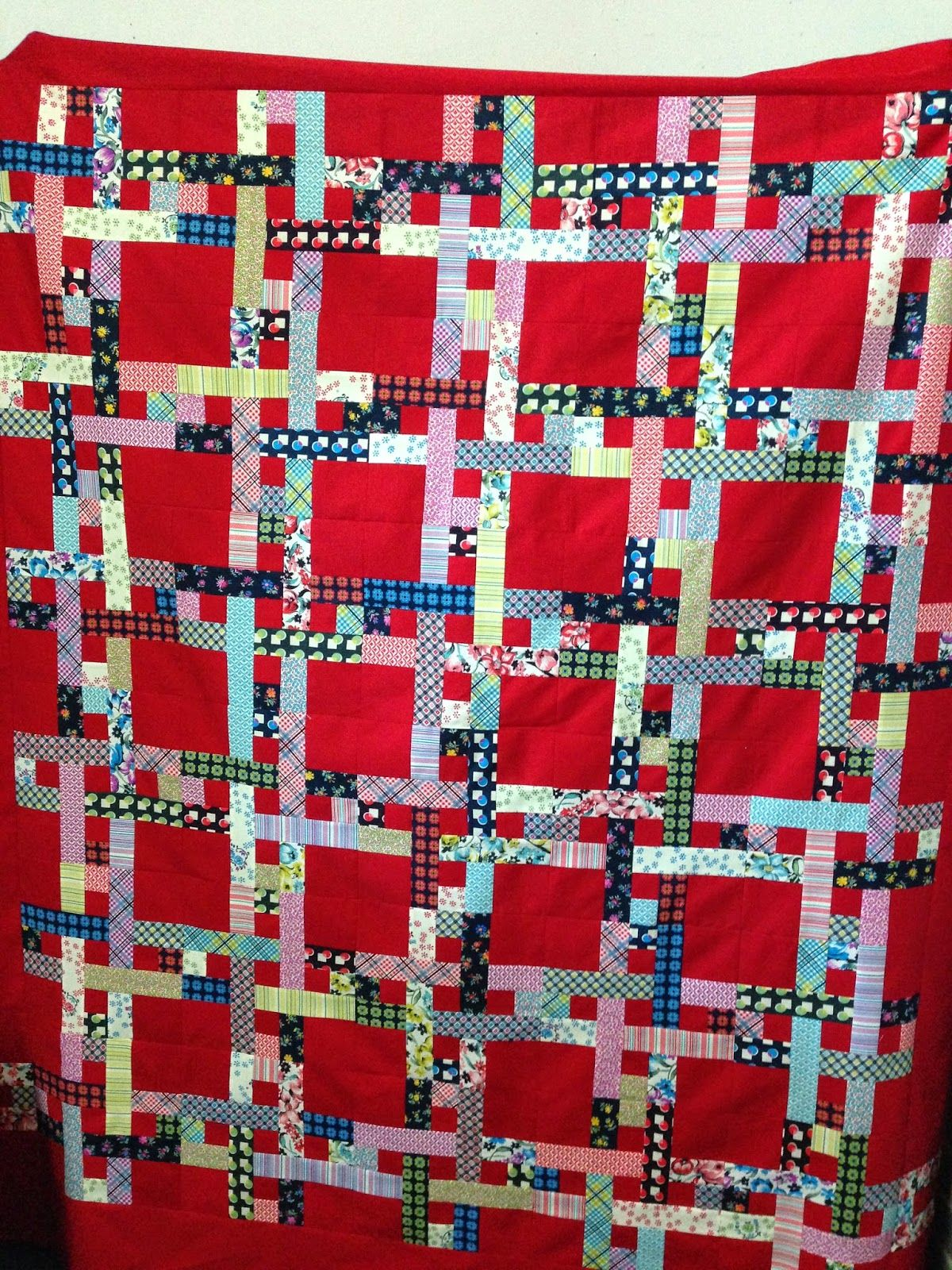 PatchworknPlay: Shelburne Tartan...pattern from the book