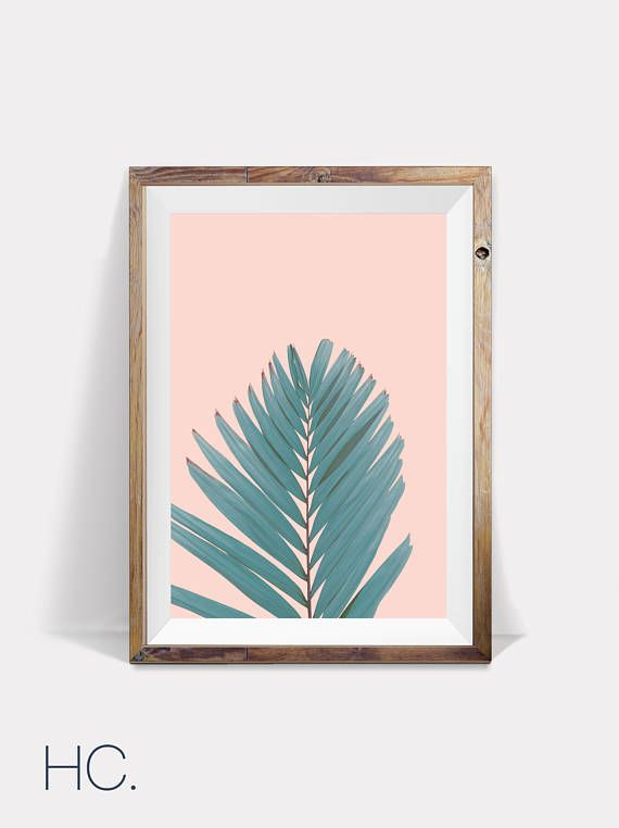 Leaf Print,Leaves Print,Leaves,Wall Art,Tropical Print,Leaf,Wall ...