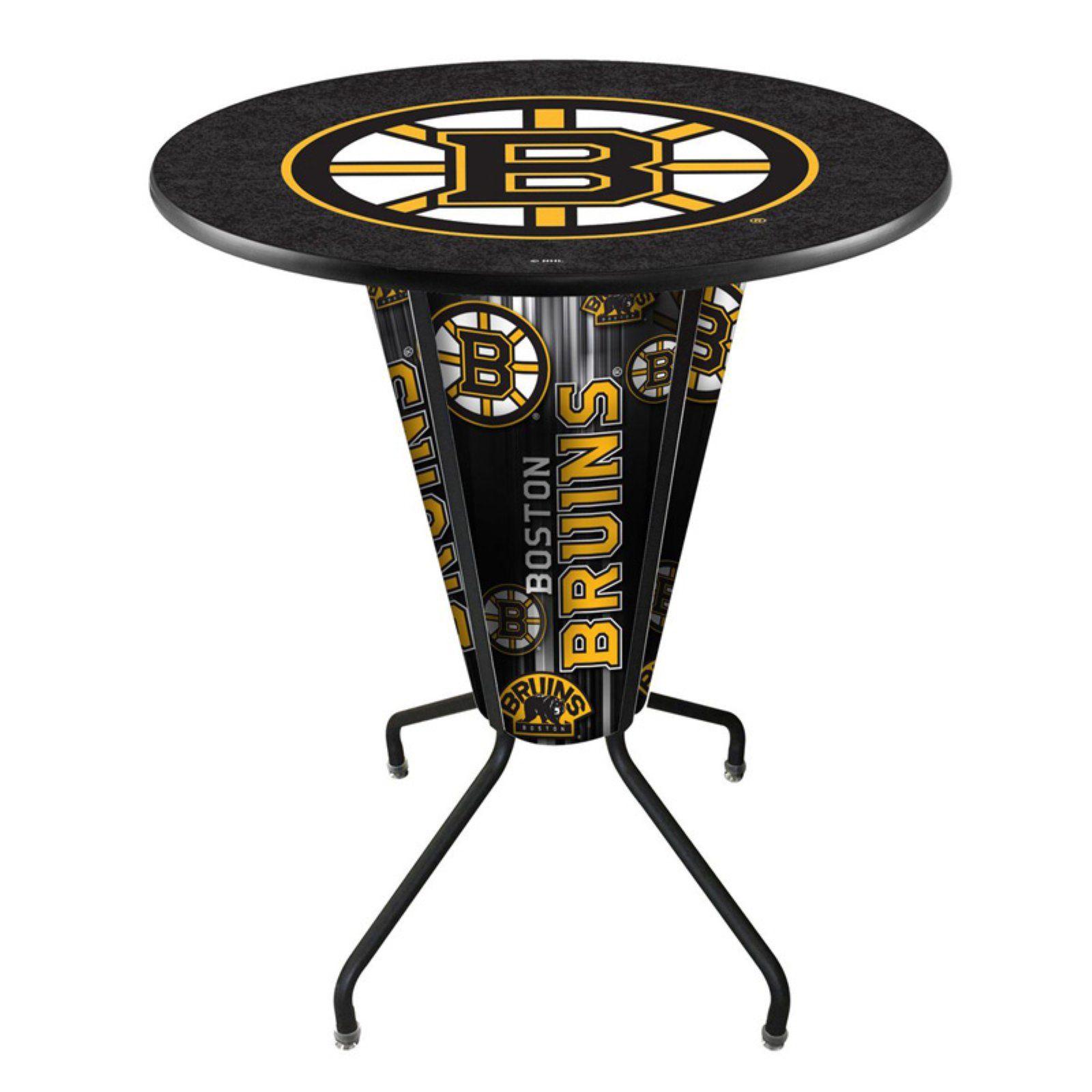 Holland Bar Stool Co Lighted NHL Team Pub Table with Logo