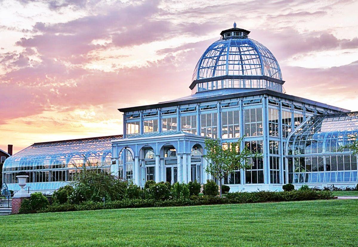 Lewis Ginter Botanical Garden Conservatory Richmond, VA