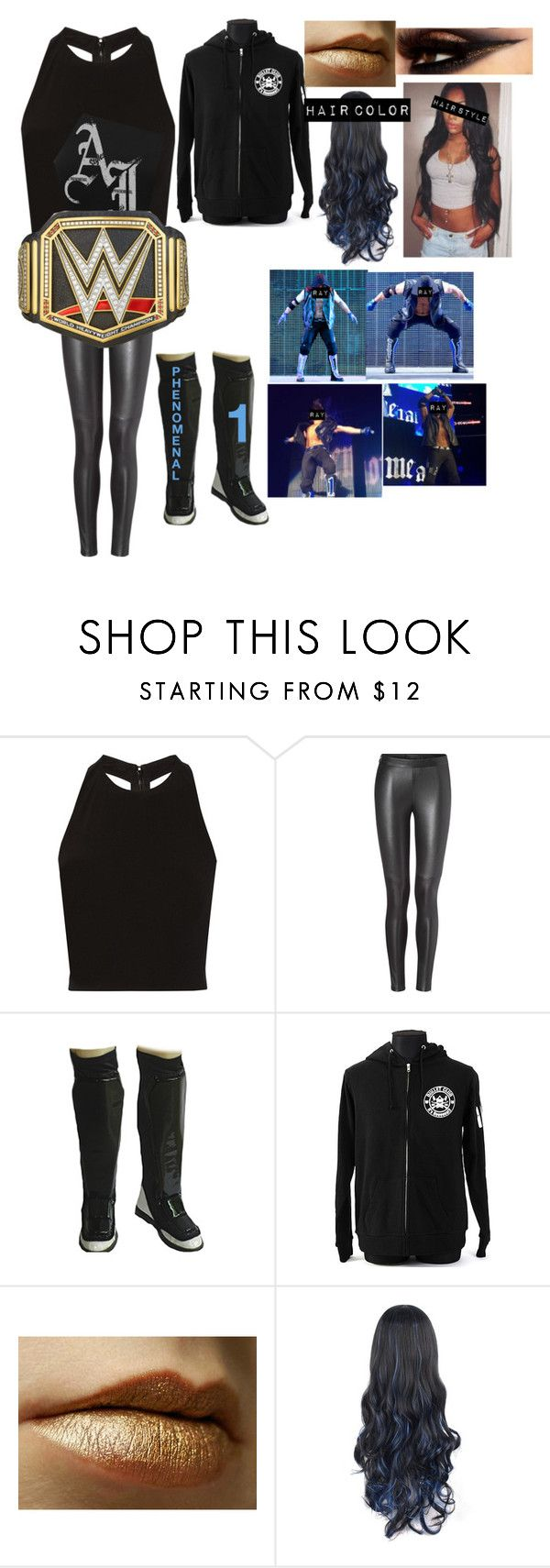"""Ray styles-distraction"" by princess-nikki123 ❤ liked on Polyvore featuring Alice + Olivia and WWE"