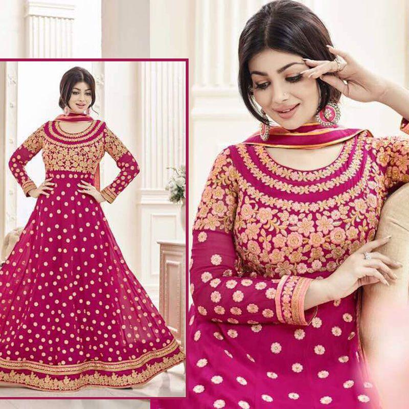 Latest Indian Bollywood Pakistani EID Designer Asian Anarkali ...