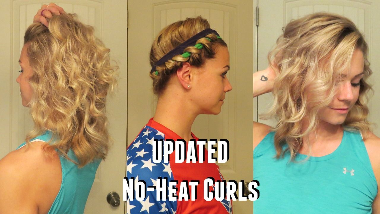 Beachy Waves Curl Your Hair Without Heat No Heat Curls