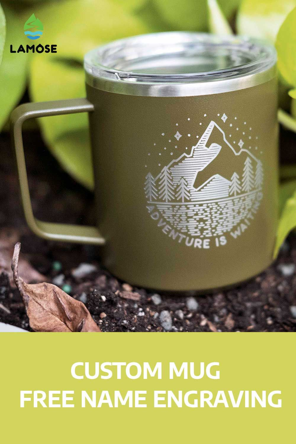 Custom Coffee mug, Custom Logo Mug, Laser Engraved Custom