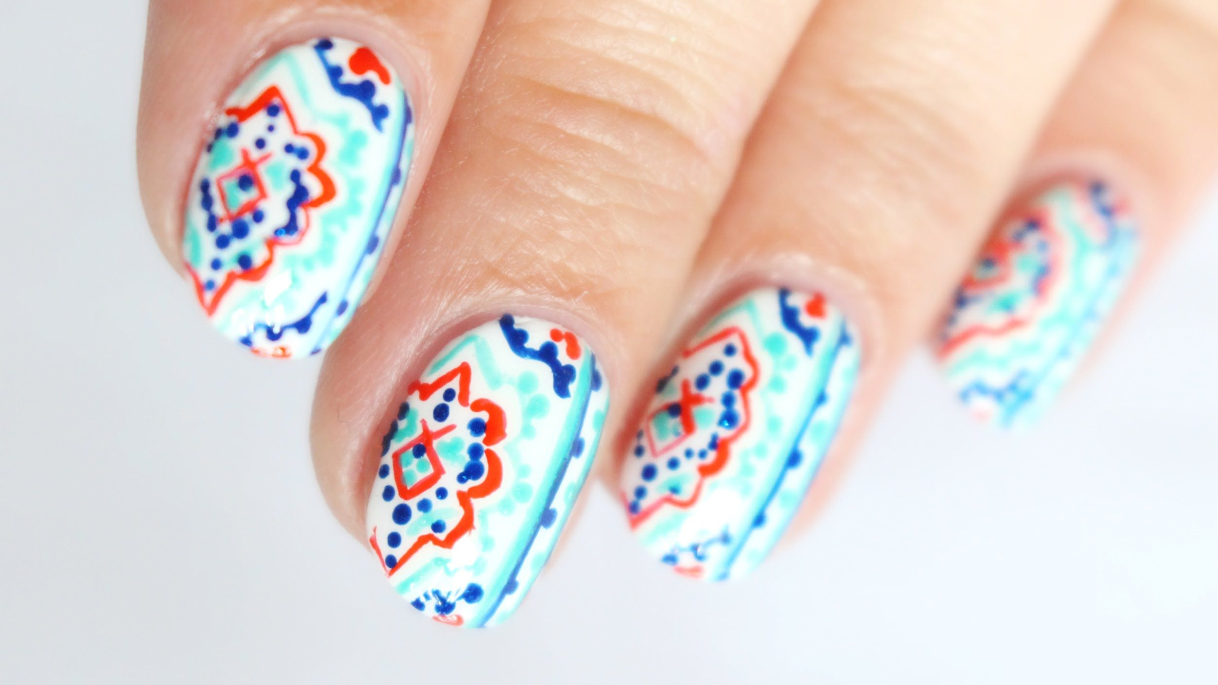 Summer Moroccan Pottery Nail Art - The Essie Summer 2016 Collection ...