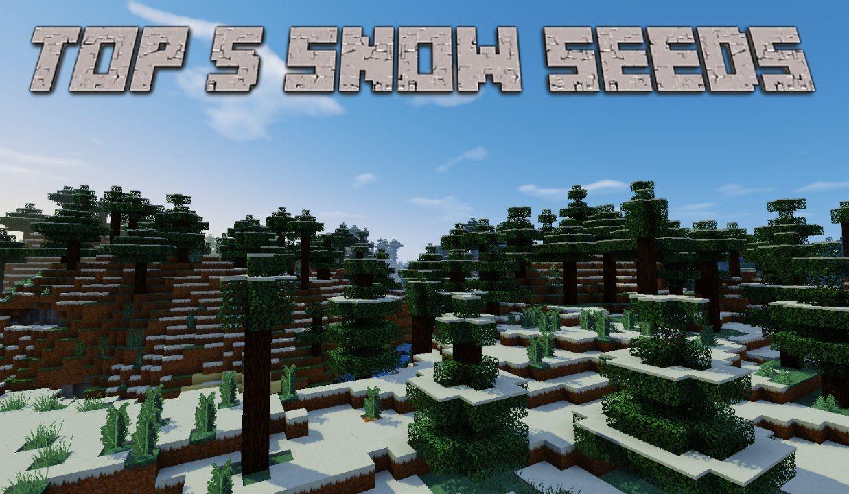Top 5 Snow, Ice Plains Minecraft Seeds 1.8.8 Cool