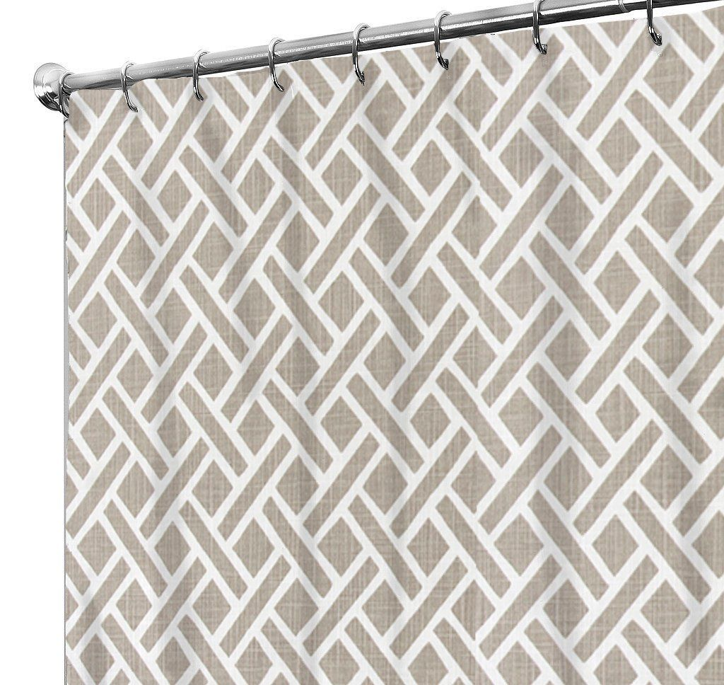 74 Shower Curtain Shower Curtain Squares Country Shower Curtain Rustic Farmhouse