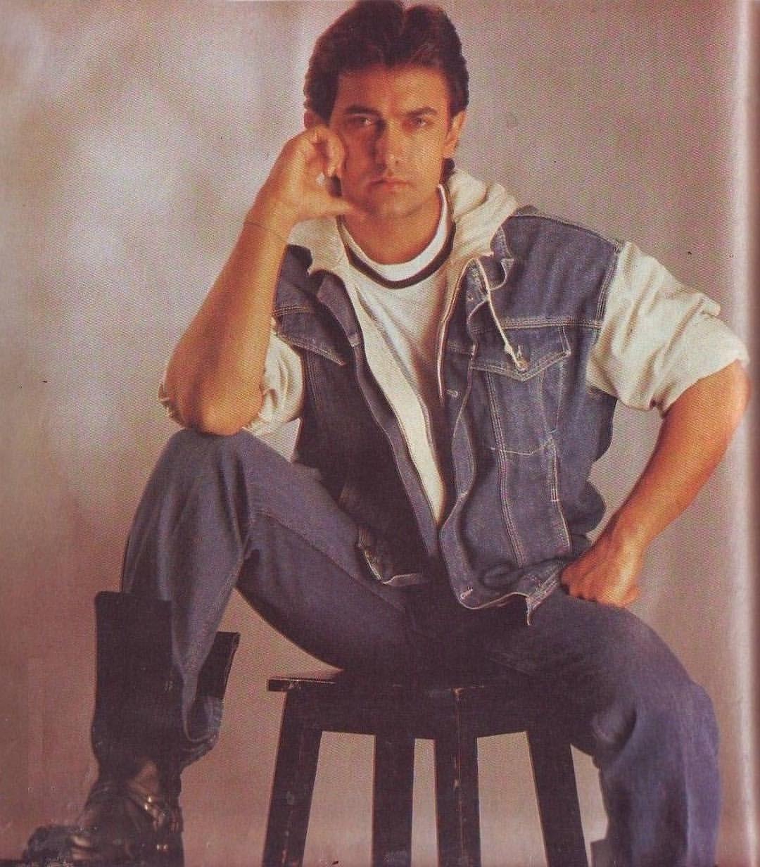 Image result for aamir khan 90s