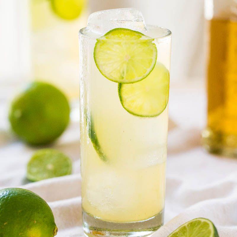 Homemade Margaritas, Drinks