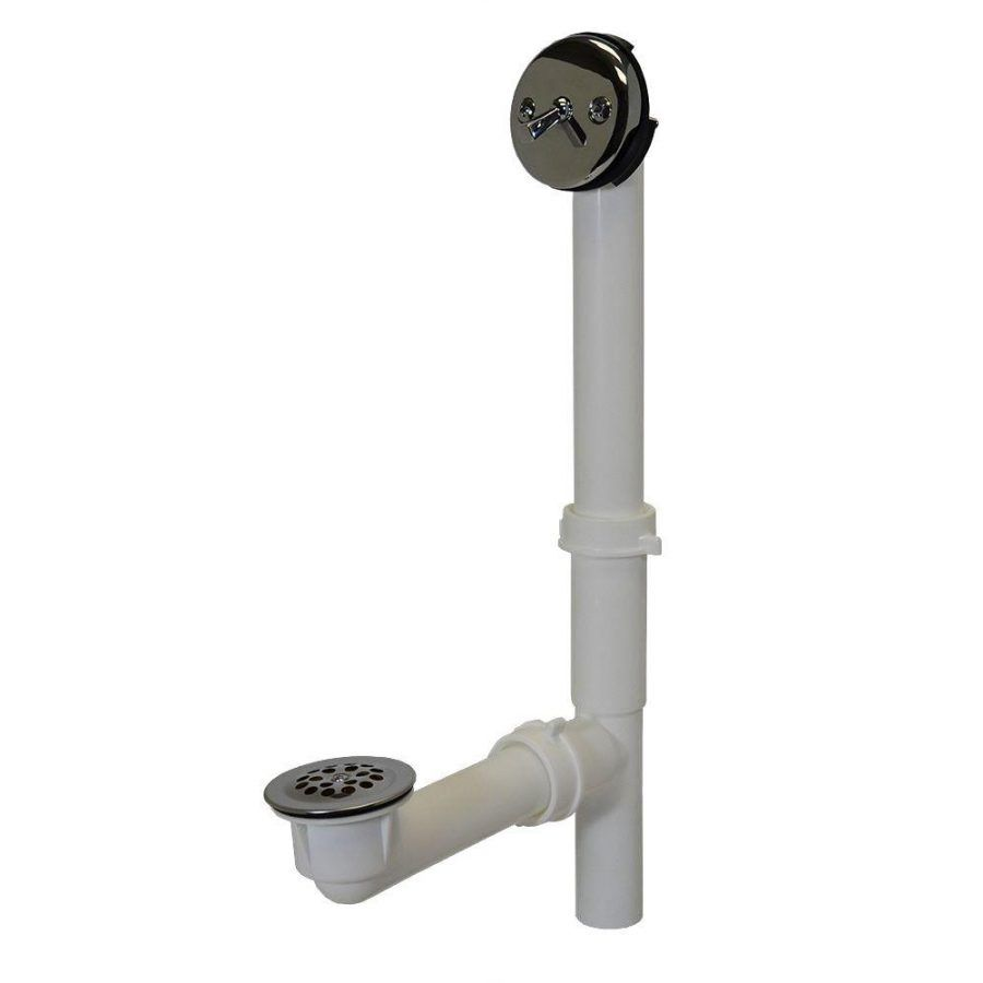 Bathroom: Winsome Old Kohler Bathtub Drain Parts 61 Trip Bathtub ...